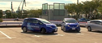 Honda Showcases Driverless Valet Parking System