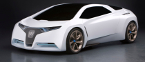 Honda Shows Off with Fuel Cell Sports Car