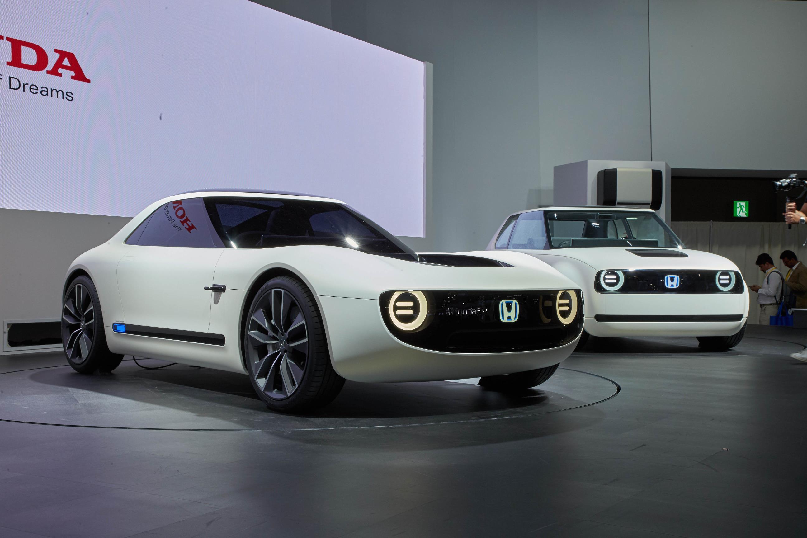 Honda Sports EV And Urban EV Concepts Reveal Future Retro Japanese Design