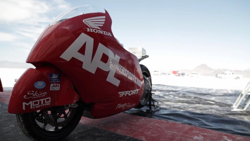 Honda tuner al lamb does 265 mph 426 km h on his for Al lamb honda