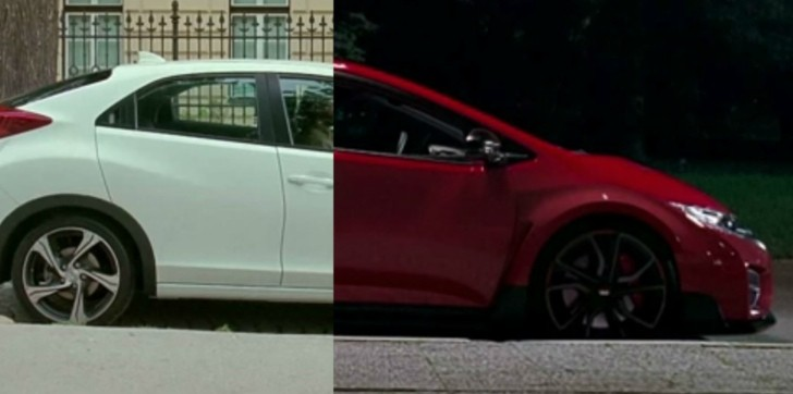 Sell Junk Cars >> Honda Turns Civic into Type R Getaway Vehicle in ...