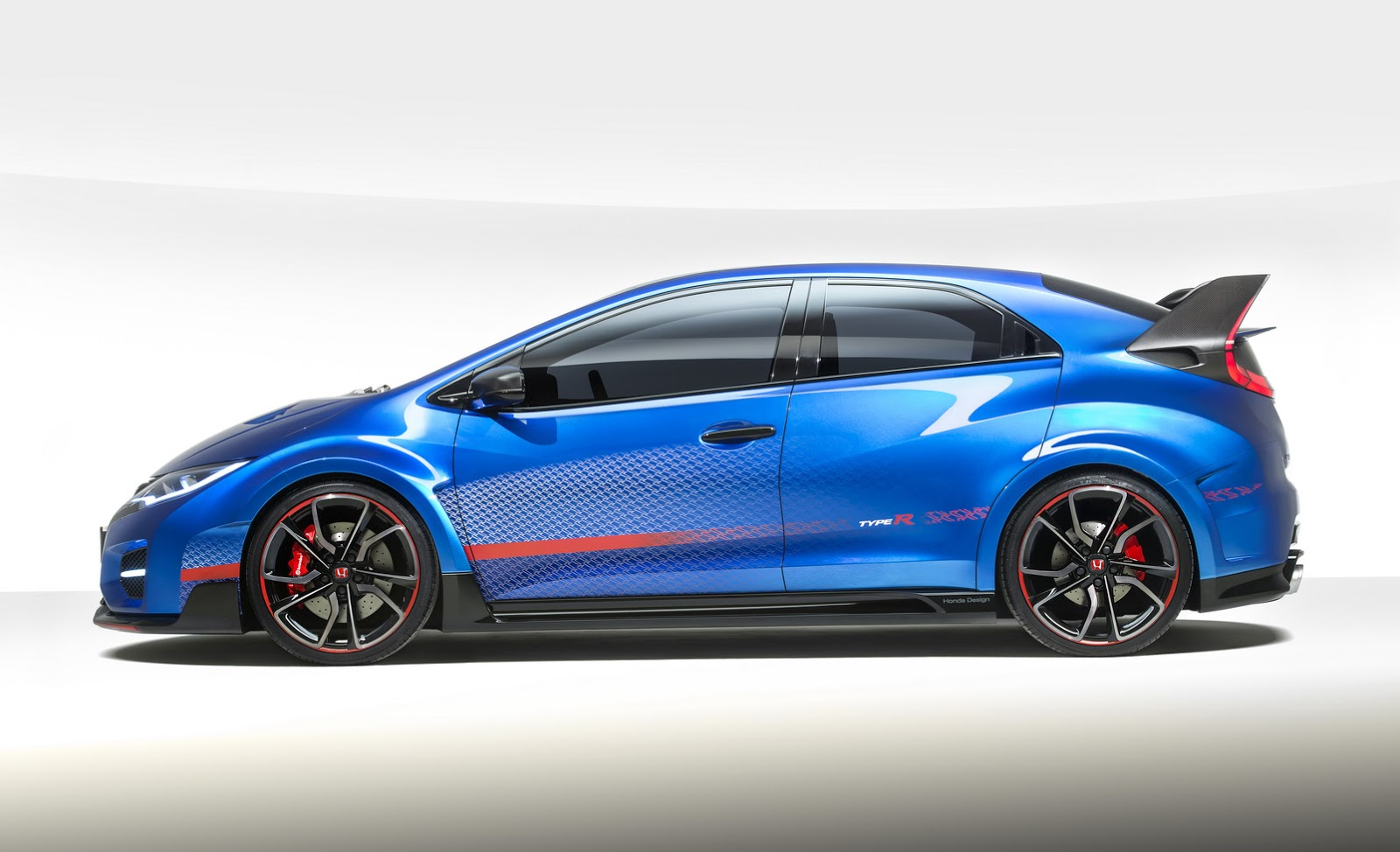 honda unveils civic type r concept ii says it 39 s faster than old nsx autoevolution. Black Bedroom Furniture Sets. Home Design Ideas