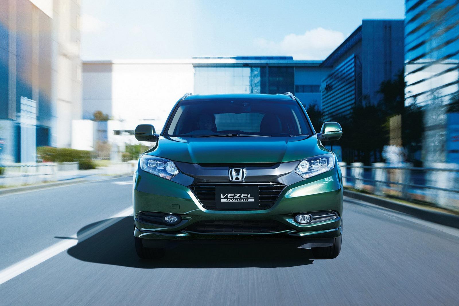 Honda Vezel Getting Cosmetic Tweaks for 2015 European ...