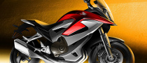 Honda VFR Adventure Bike Concept Final Sketch Revealed