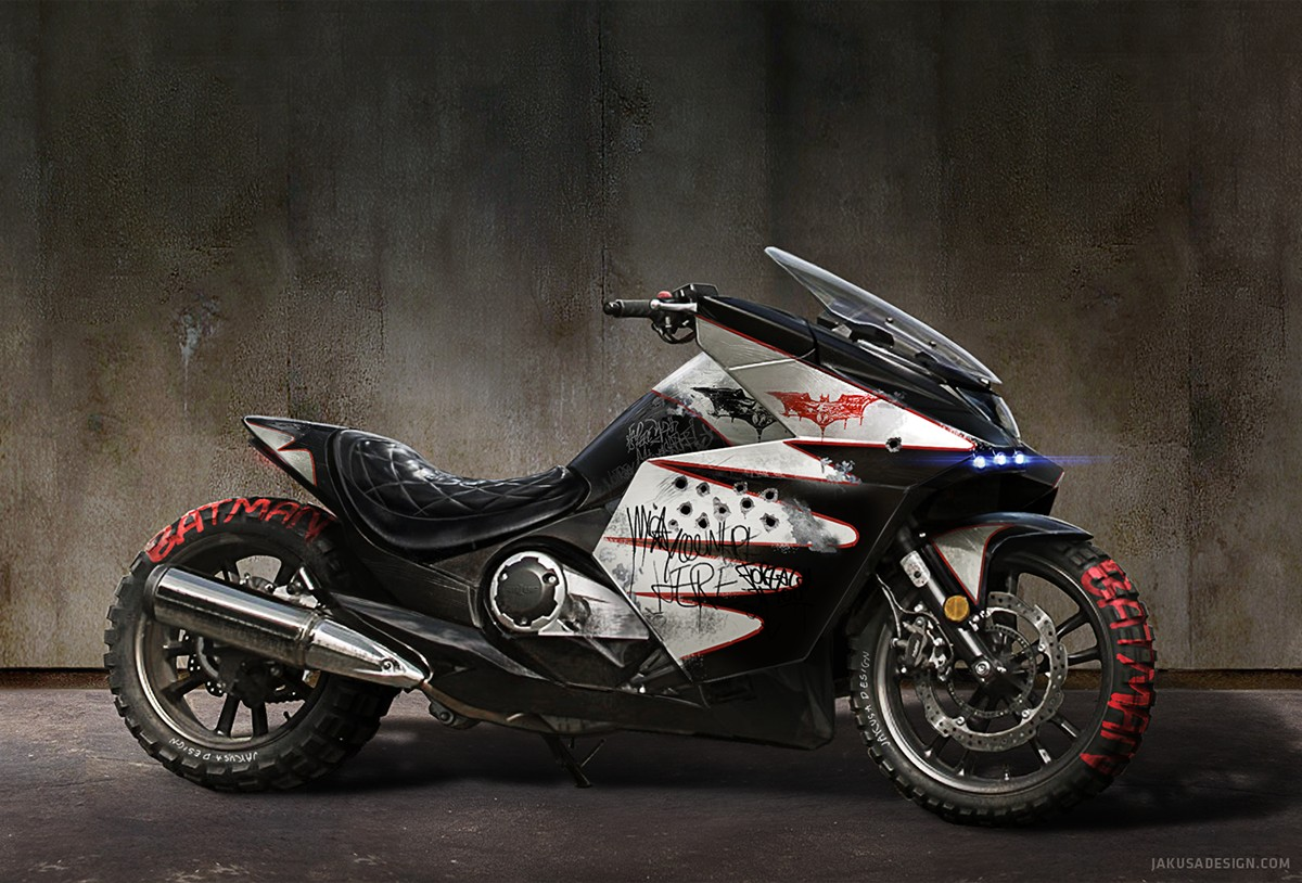 Honda Vultus Becomes a Bloody Batbike and We Sort of Like It ...