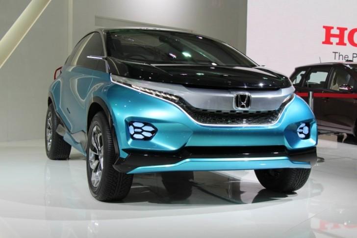 Honda XS-1 Concept Unveiled at 2014 New Delhi Auto Expo - Live Photos