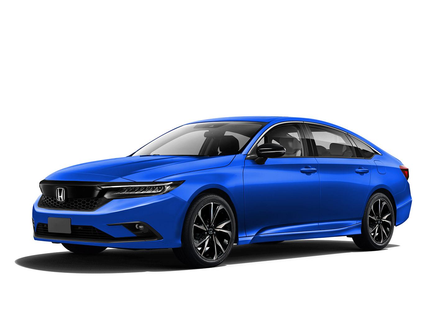 Honda S All New Civic Sedan Rendered 2022 Model Looks Grown Up Autoevolution