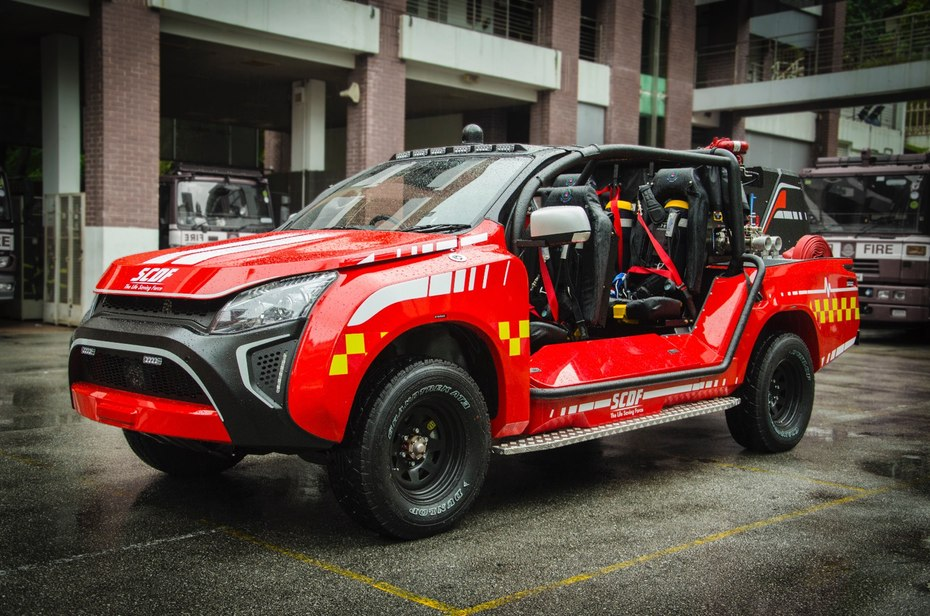 Hope Technik Reveals Another Car-Sized Firetruck Called ...