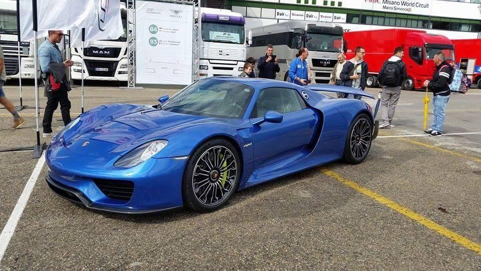 Horacio Pagani Reportedly Bought This Porsche 918 Spyder Hypercar