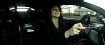 Hot Girl Hooning Lamborghini Murcielago LP670-4 SV [Video]