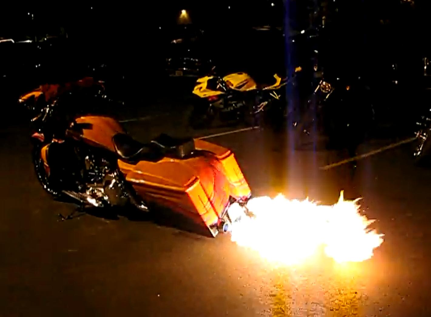 Hot Licks Exhaust Offers Custom Flame Throwers