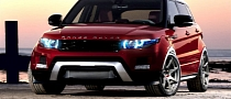Range Rover Evoque Performance Version Being Tested