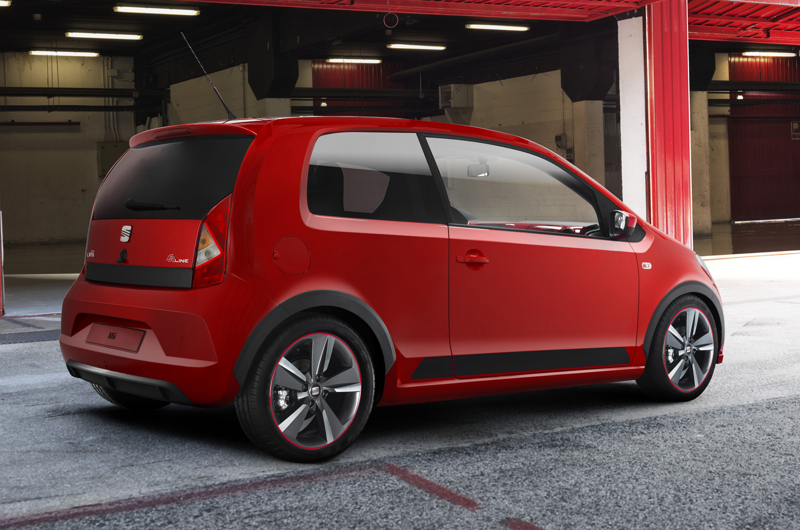 seat mii fr previewed ahead of worthersee release. Black Bedroom Furniture Sets. Home Design Ideas