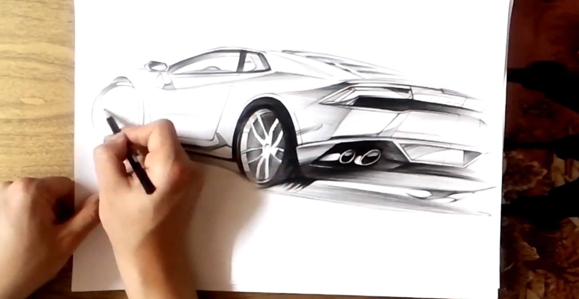 How To Draw The Lamborghini Huracan Autoevolution