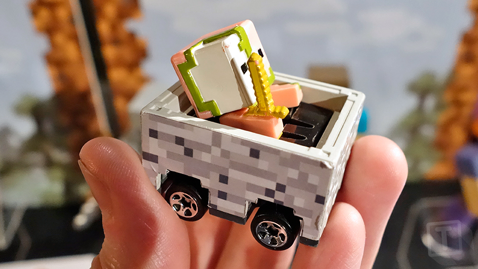 Hot Wheels And Minecraft Troll Us A Little With Minecart