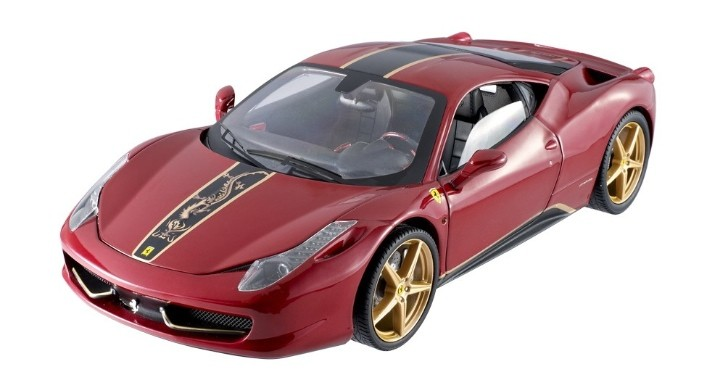 Hot Wheels Ferrari 458 Italia China Edition Scale Model [Photo Gallery]