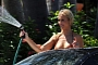 """Housewife"" Joanna Krupa Washes Ferrari 458 In Bikini [Photo Gallery]"