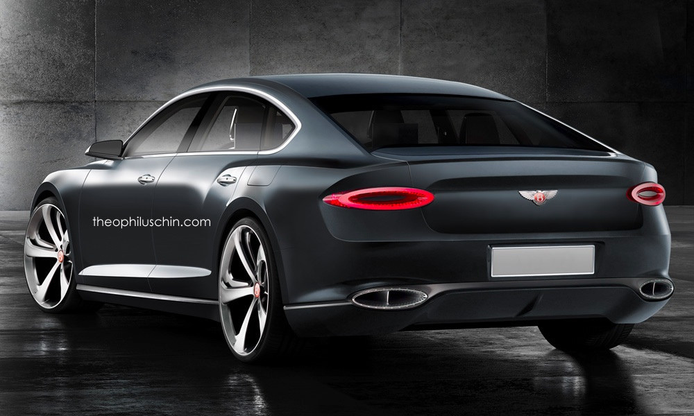 How About a Four-Door Bentley Coupe to Broaden Your Horizon ...