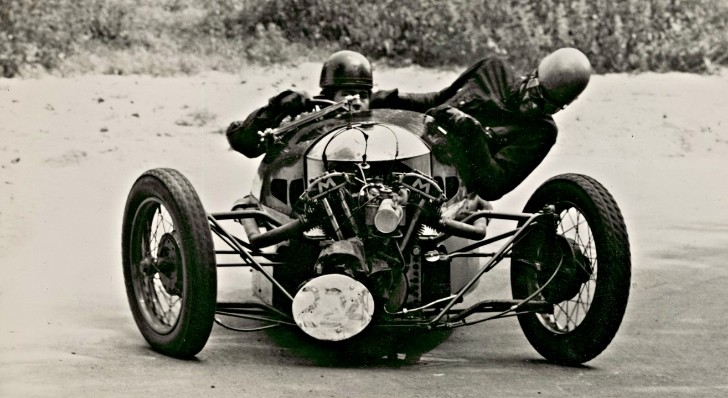 How About the Excellent Morgan Three Wheeler?