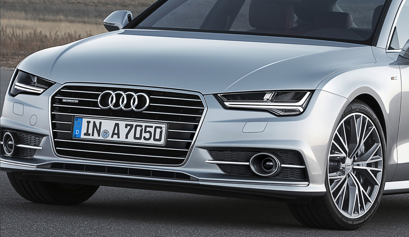 How Standard Led Headlights On The Audi A7 Facelift Will