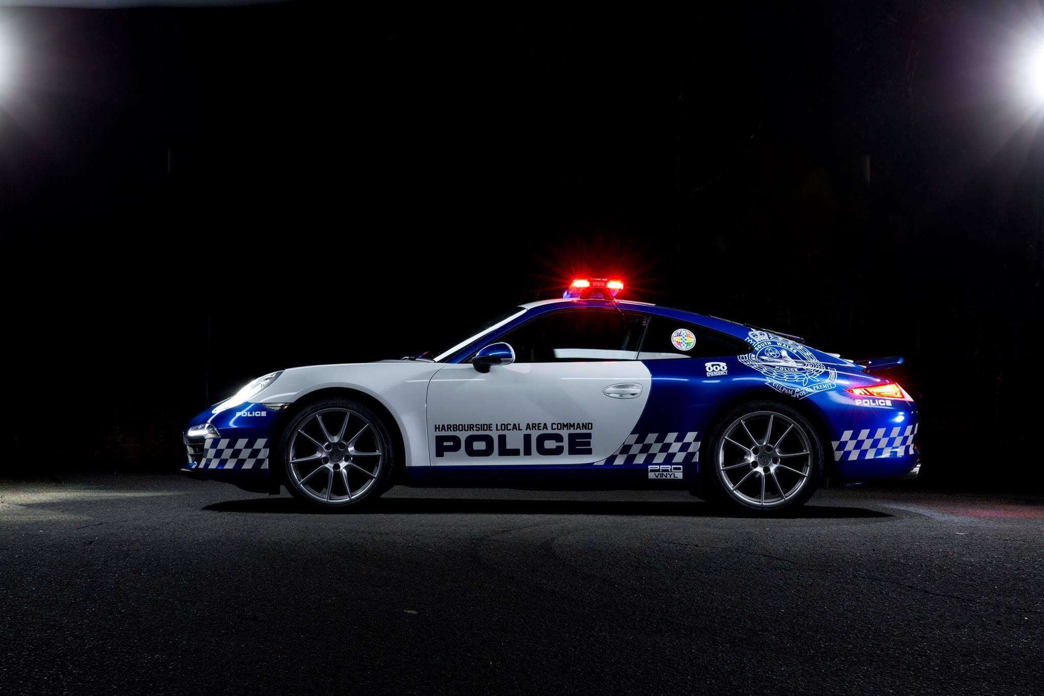 How Australian Police Ended Up With A Porsche 911 Carrera