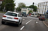 Audi travolution establishes a link between cars and traffic lights