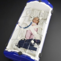 Transporting sick babies with the help of F1 technology