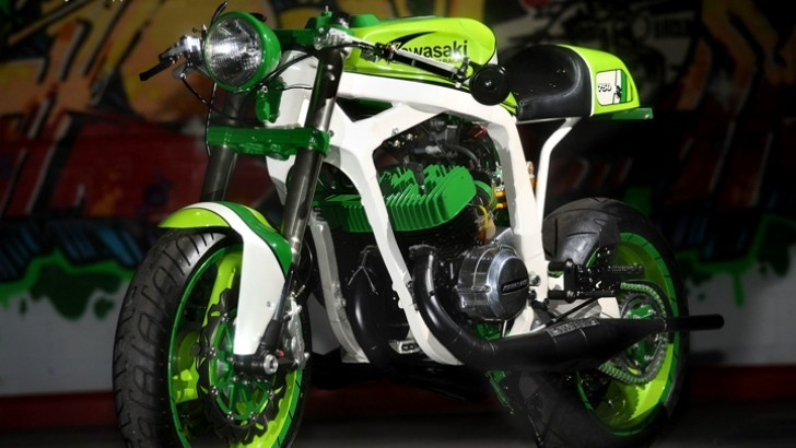 How Green Can a Motorcycle Be? [Photo Gallery]