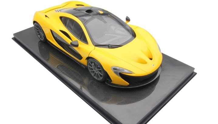 hand crafted mclaren p1 scale model costs 6 200 autoevolution. Black Bedroom Furniture Sets. Home Design Ideas