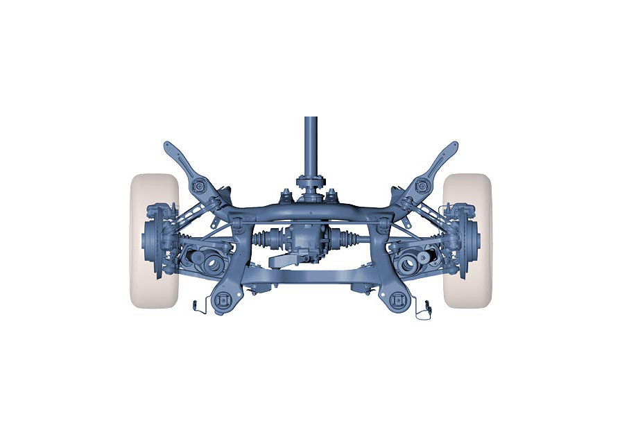 How Multi Link Suspension Works Autoevolution