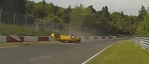 How Not to Lap the Nurburgring: Porsche 911 GT2 Crashes, Flips Over [Video]