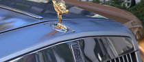 How Rolls-Royce's Spirit of Ecstasy Looks in Gold [Video]
