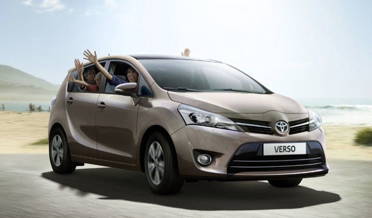 how the 2014 toyota verso makes for the best family car autoevolution. Black Bedroom Furniture Sets. Home Design Ideas