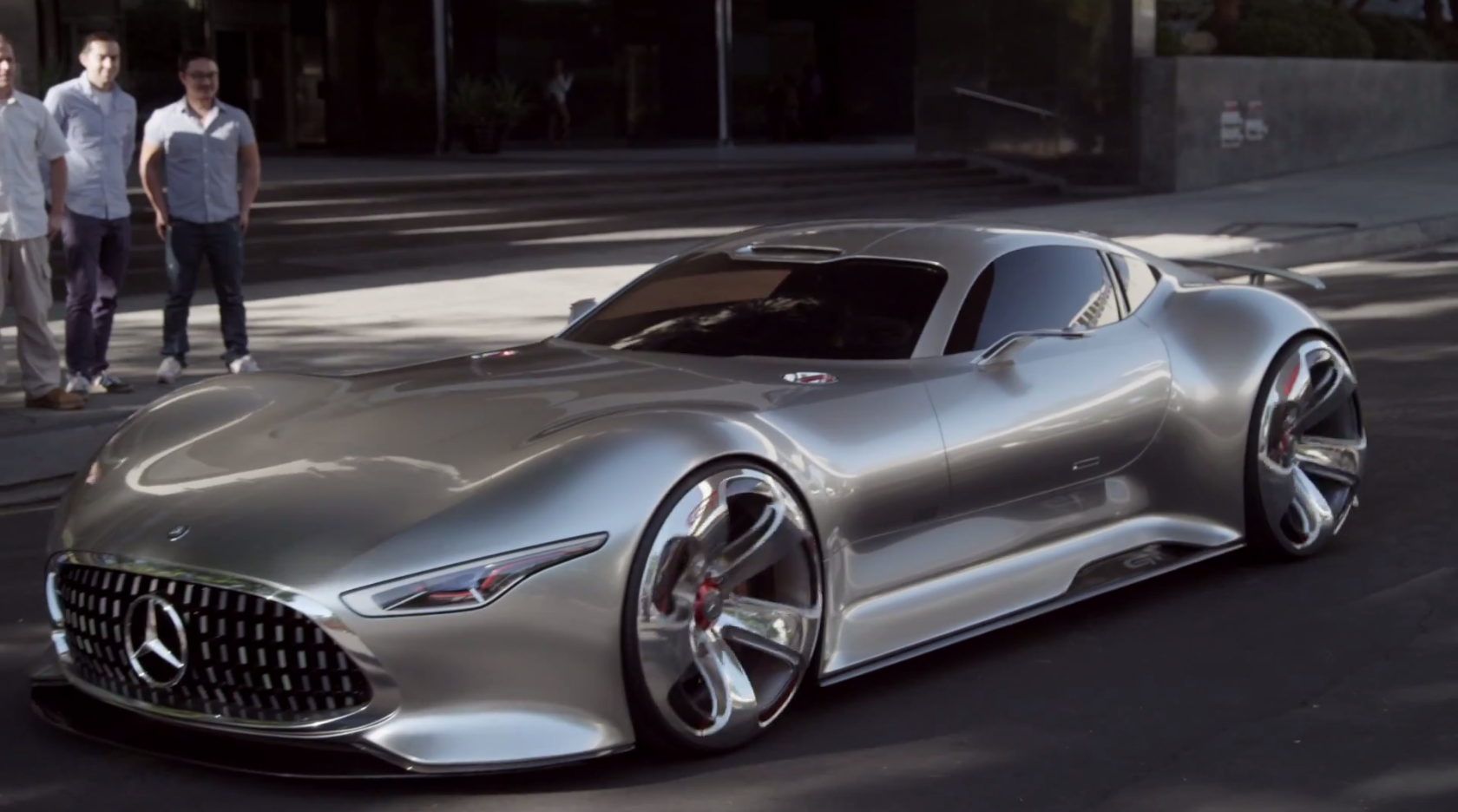 How the amg vision gran turismo concept came to be for Mercedes benz amg vision