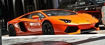 Aventador Looks Exciting Standing Still