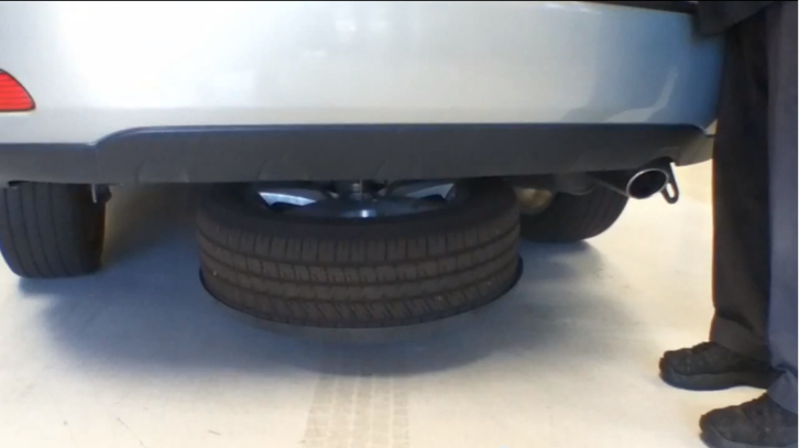 How To Access Spare Wheel On Lexus RX 350 Autoevolution