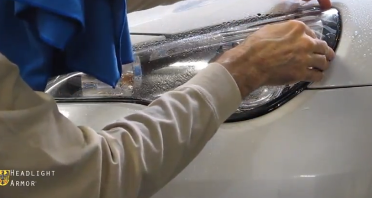 How to Apply Headlight Protection on Scion FR-S [Video]