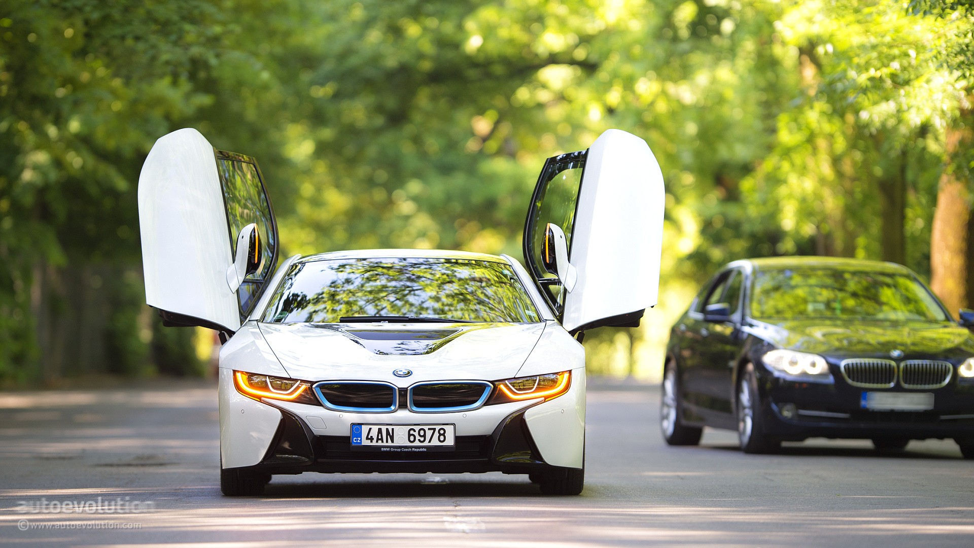 how to bmw i8, the hd wallpaper guide - autoevolution