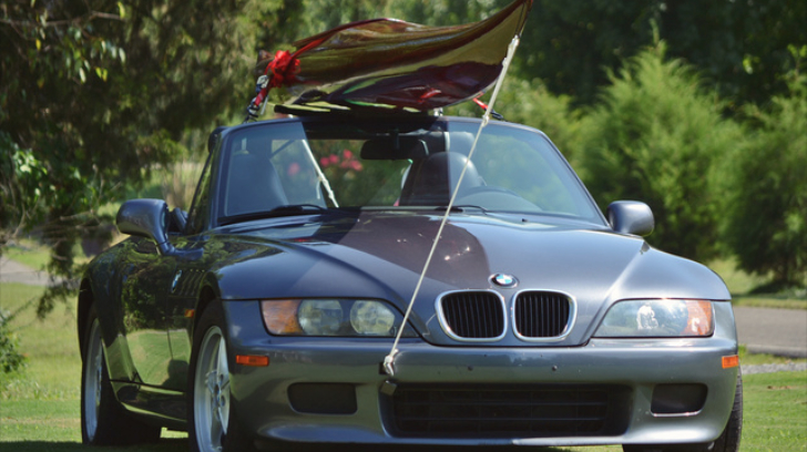How to Carry a Kayak with a BMW Z3 Roadster