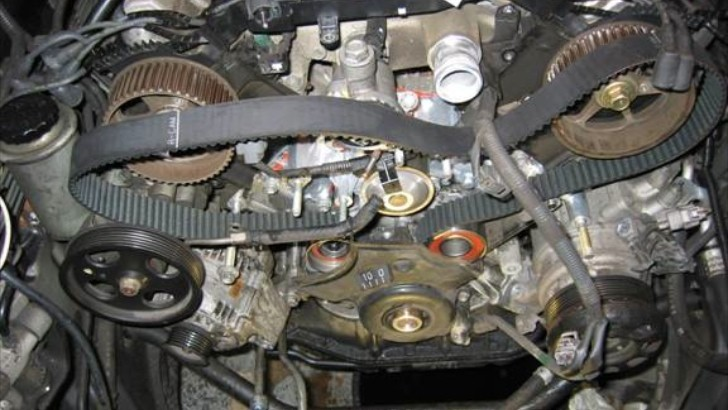 How to Change the Timing Belt on the Lexus LS 400 ...