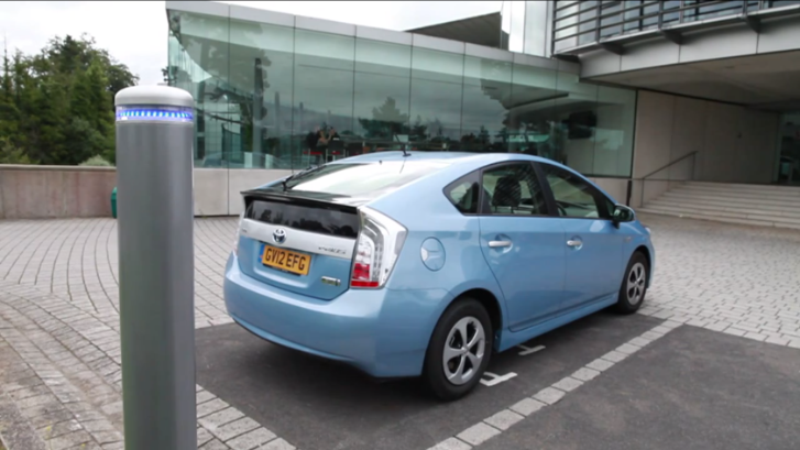 how to charge the toyota prius plug in autoevolution. Black Bedroom Furniture Sets. Home Design Ideas