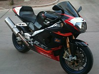 Aprilia RSV Mille is a speeder with a v twin engine
