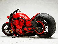 Most custom bikes are choppers and streetfighers