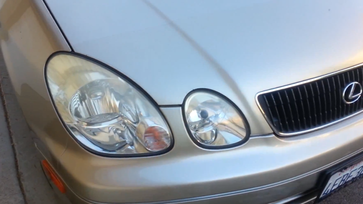 How to Clean Fogged Lexus Headlights [Video]