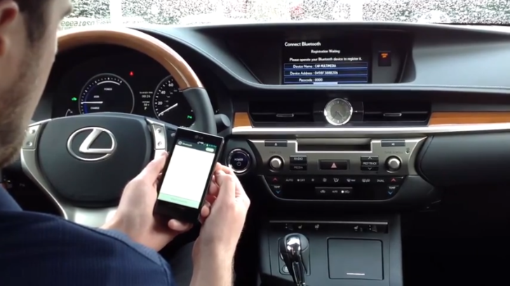 How to Connect Android Phone to 2013 Lexus ES 300h [Video]