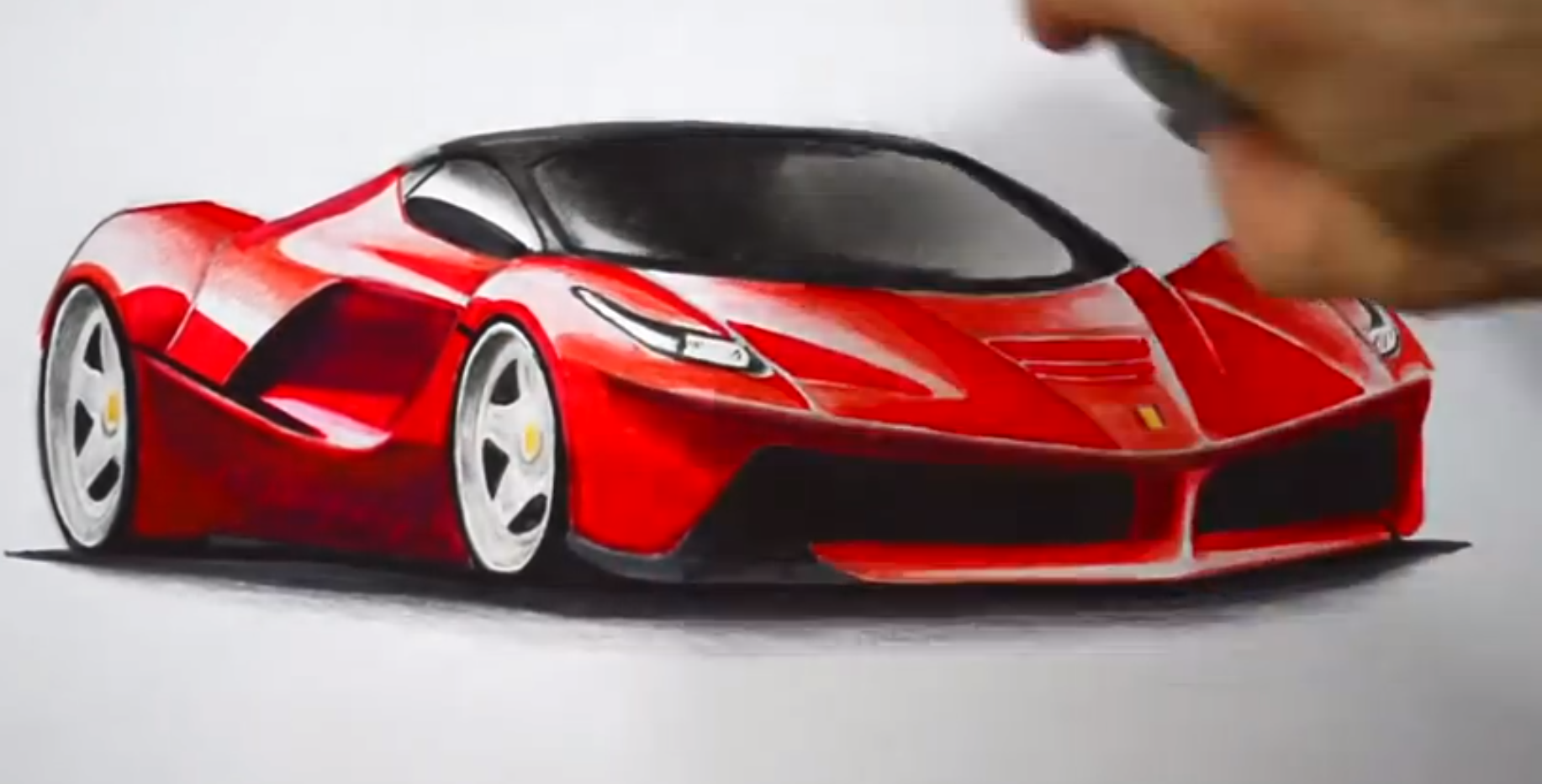 how to draw a laferrari autoevolution. Cars Review. Best American Auto & Cars Review
