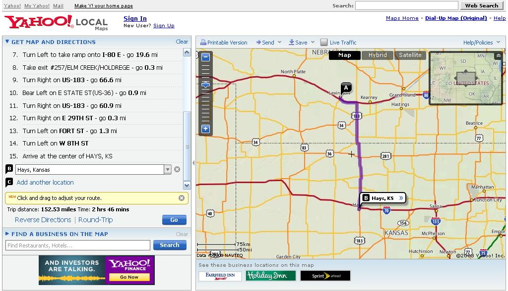 How to Get Driving Directions WITHOUT a GPS - autoevolution Yahoo Maps Driving Directions on mapquest driving directions, map it, mapquest directions, amazon driving directions, mapblast driving directions, road maps, satellite maps, travelocity driving directions, get directions, need map for driving directions, travel maps, travel directions, street maps, maps with driving directions, mapquest map, city street maps, city maps,