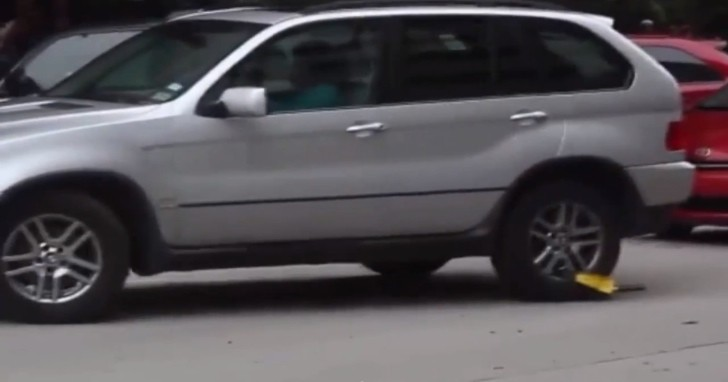 How To Get Out Of A Wheel Clamp The Bmw X5 Way