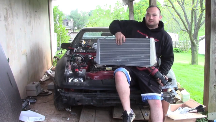 How to Install a Toyota Supra 1JZ Intercooler [Video]