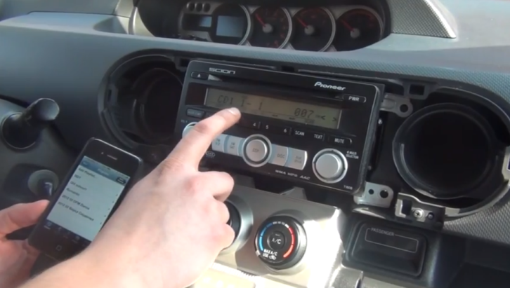 How to Install iPhone/iPod Adapter on Scion xB [Video]